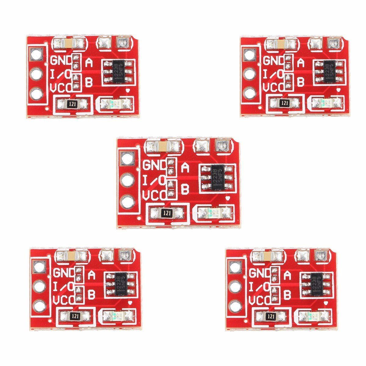 Ttp223 Touch Key Switch Module Touching Button Capacitive Switches Self-locking/no-locking Jog 2.5-5.5v 10pcs Discounts Sale Lights & Lighting Lighting Accessories