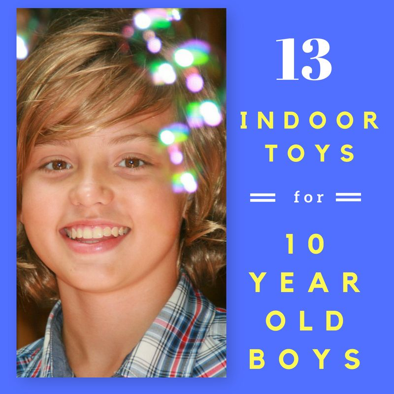 13 Indoor Toys For 10 Year Old Boys Awesome Active That Make Great Christmas And Birthday Gifts