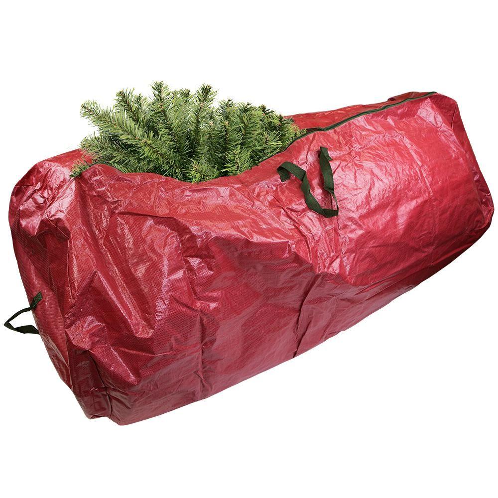 Home Basics Red Artificial Tree Storage Bag Cs49885 Christmas Tree Storage Bag Christmas Tree Storage Artificial Tree