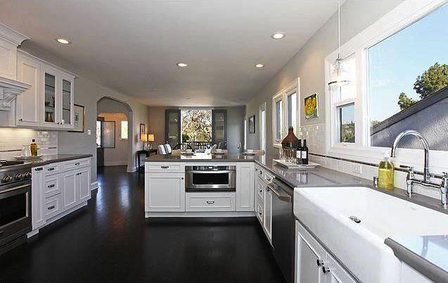 floors and white dark hardwood floors white kitchen unique picture uploads dark black hardwood floors for modern kitchen with white - Modern White Kitchen Dark Floor