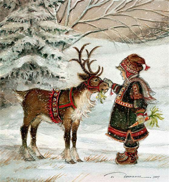 Старинные картинки зима, юбилеем нина ивановна