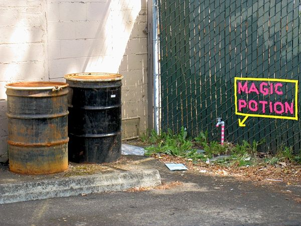 MAGIC POTION - Site intervention, Portland OR