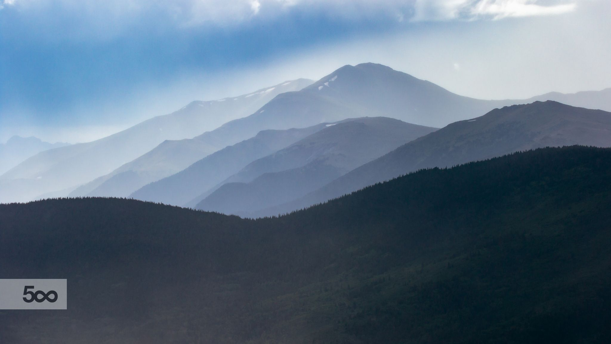 Mountains in the Mist by Chris McNeill on 500px
