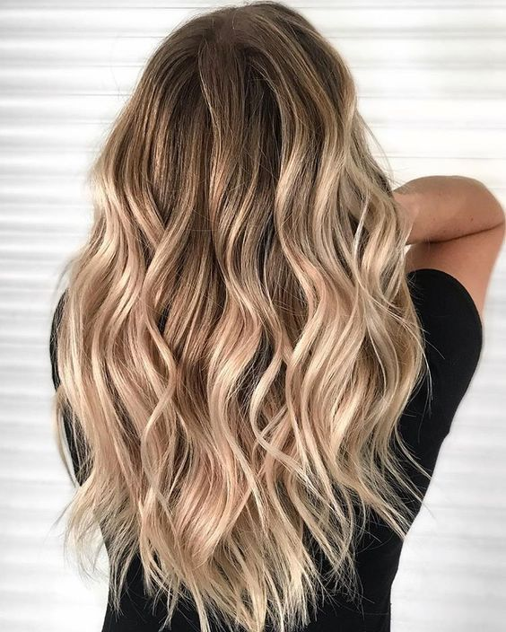 Photo of Beauty | Hair | Blonde hair | Curly | Waivy | Balayage | Haar | Kapsel | Gekruld…