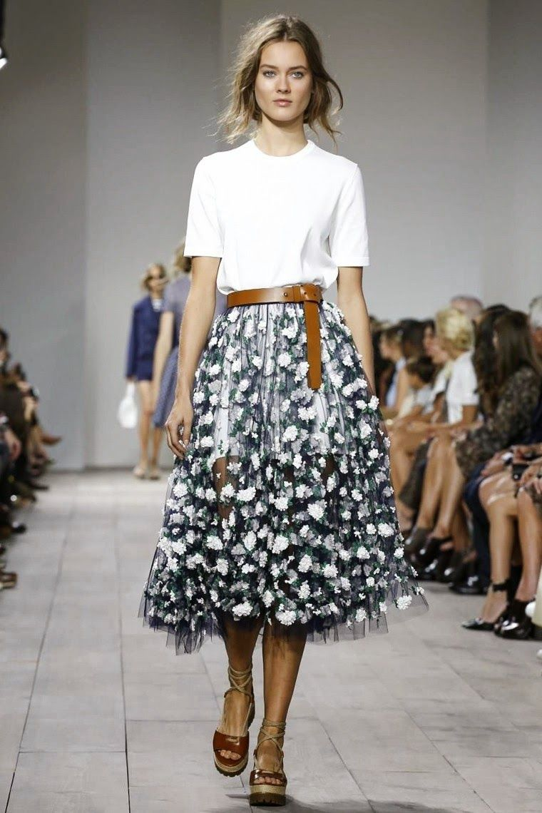 Watch Trendy skirts: Spring-Summer 2015 video