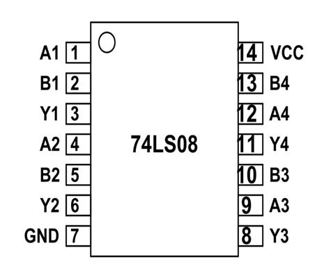 74ls08 Pinout Arduino