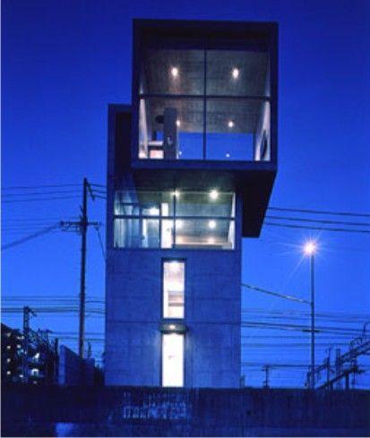 4x4 2003 tarumi ku kobe hyogo japon tadao ando for Casa moderna 4x4