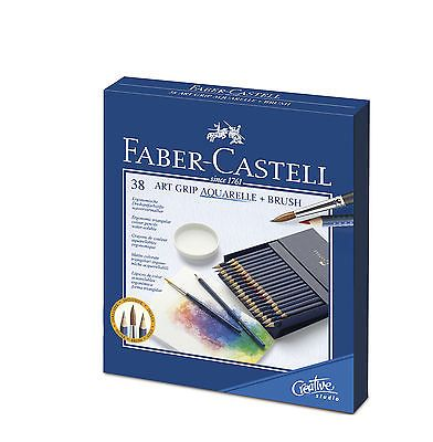 Faber Castell Buntstifte Aquarellstift Art Grip Aquarelle 38er