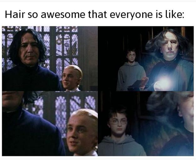 Funny Harry Potter Memes Draco : Whahahahah draco s face alan rickman harry