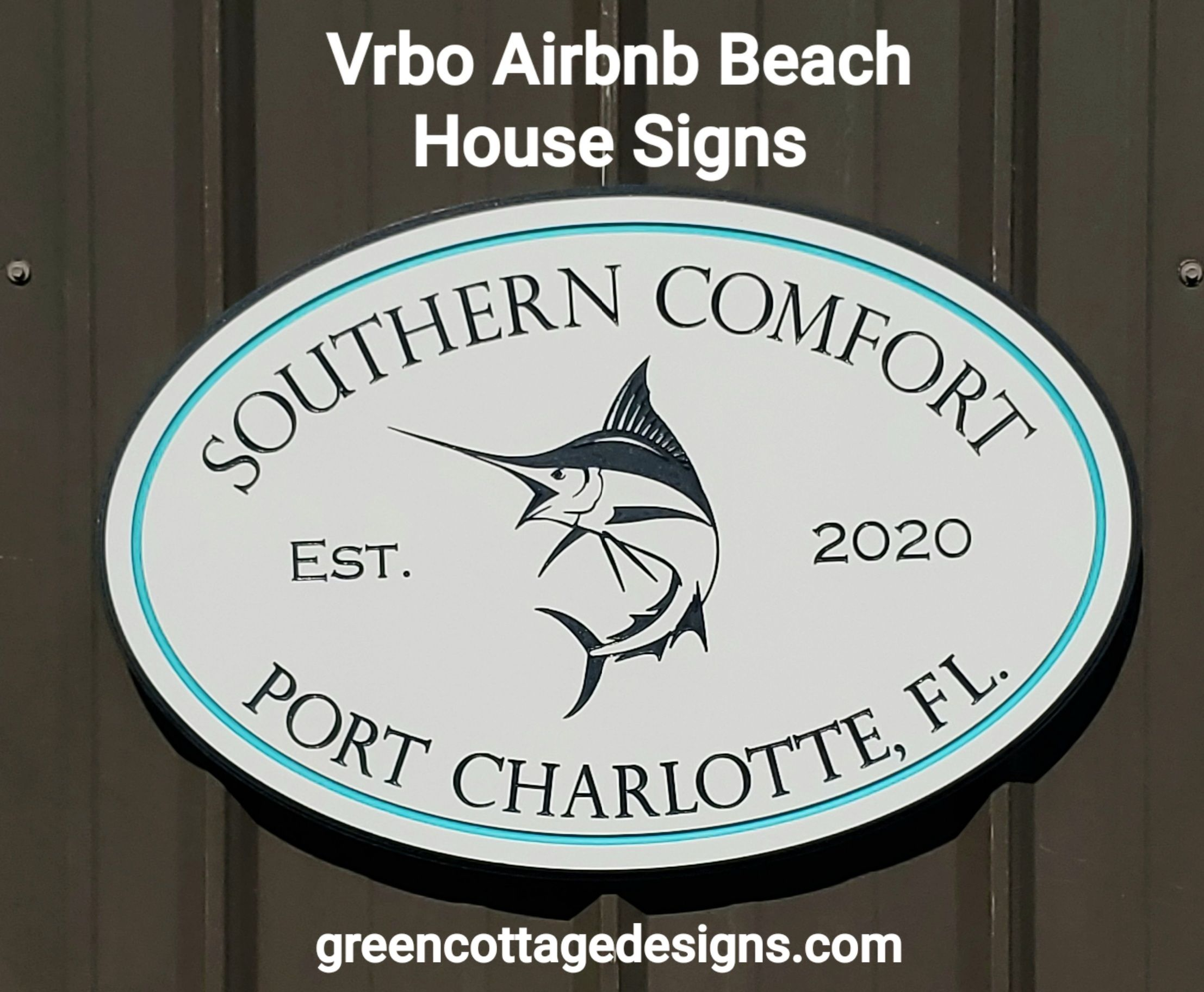 vacation house signs