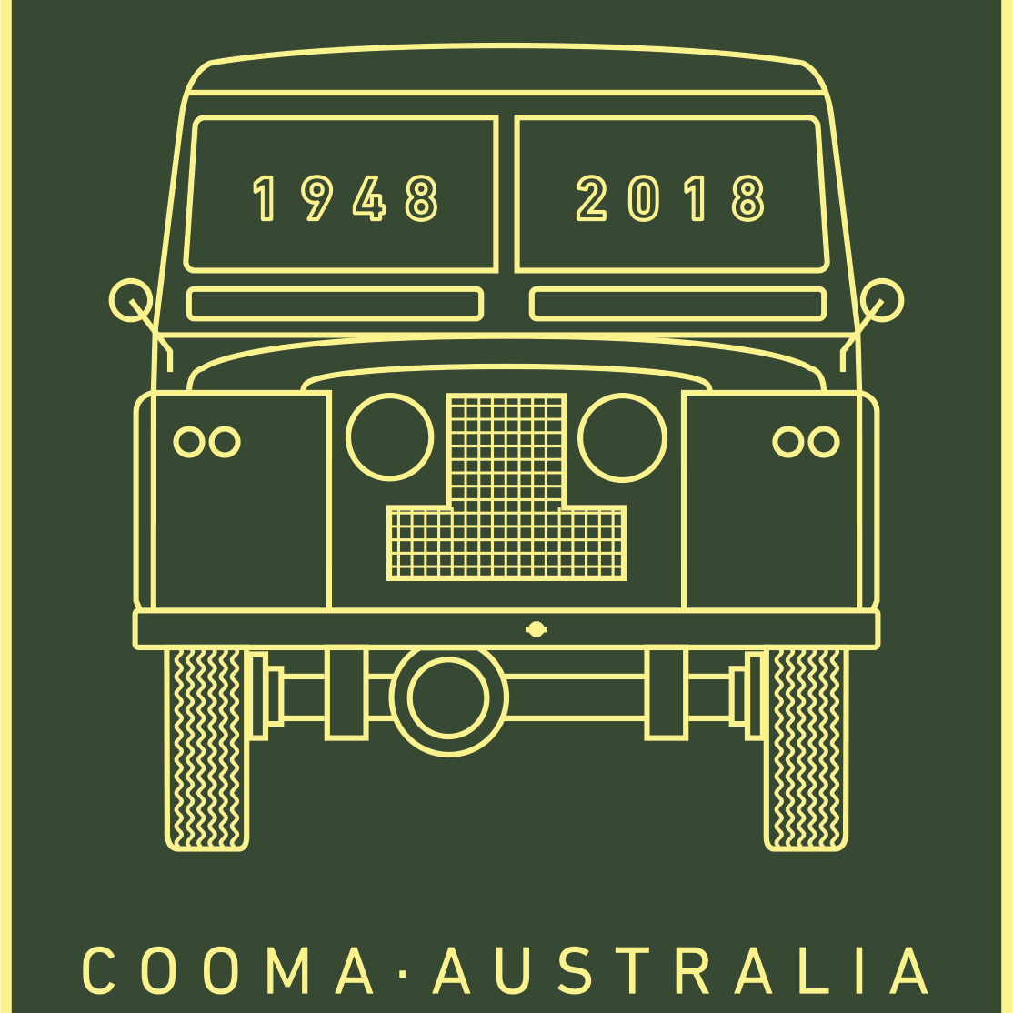 70 Years Of Land Rover Cooma 2018 [ 1114 x 1114 Pixel ]