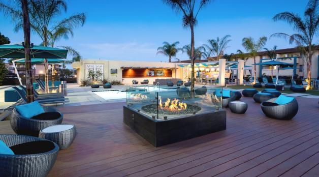 AVA Pacific Beach, San Diego CA Beach apartment