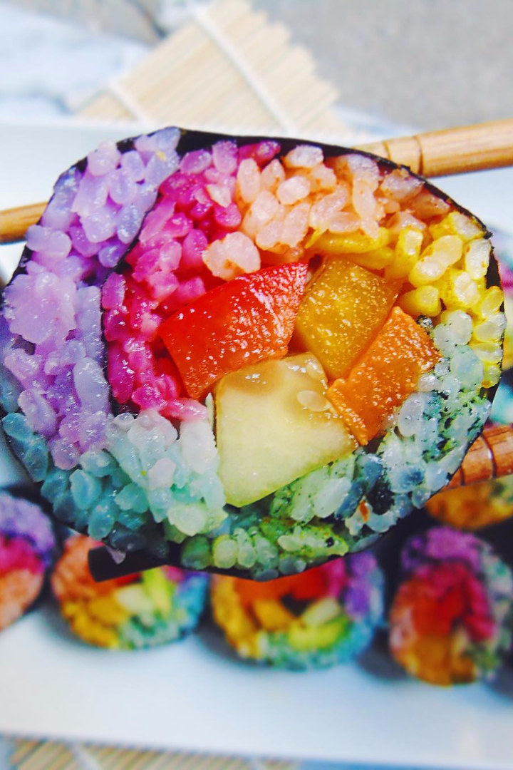 Rainbow Sushi Is For Unicorns And Mermaids Only