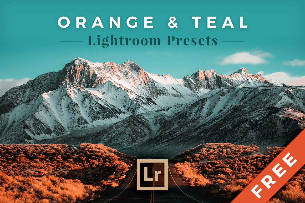 Orange Teal Lightroom Preset Free Download
