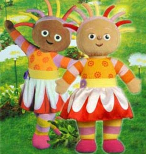 Daisy S Whitewash Bbc Race Row Over Night Garden Doll S Pale Face Night Garden Pale Face Dolls