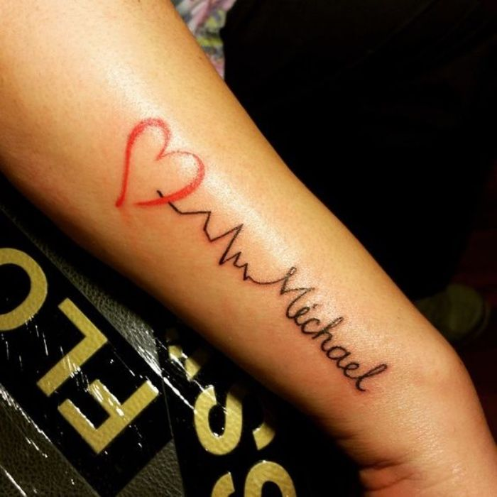 Tatuajes De Nombres En El Brazo