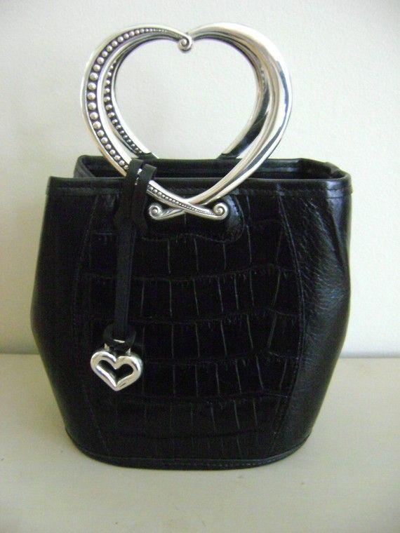 Brighton Leather Handbag By Bellaschiccollezione On Etsy 160 00