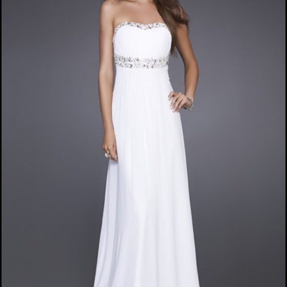 Simple Wedding Dress For Godmother: Prom Dress NWT (With Images)