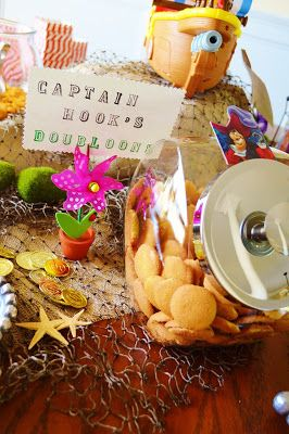 Peter Pan Birthday | Nilla Wafers as Doubloons
