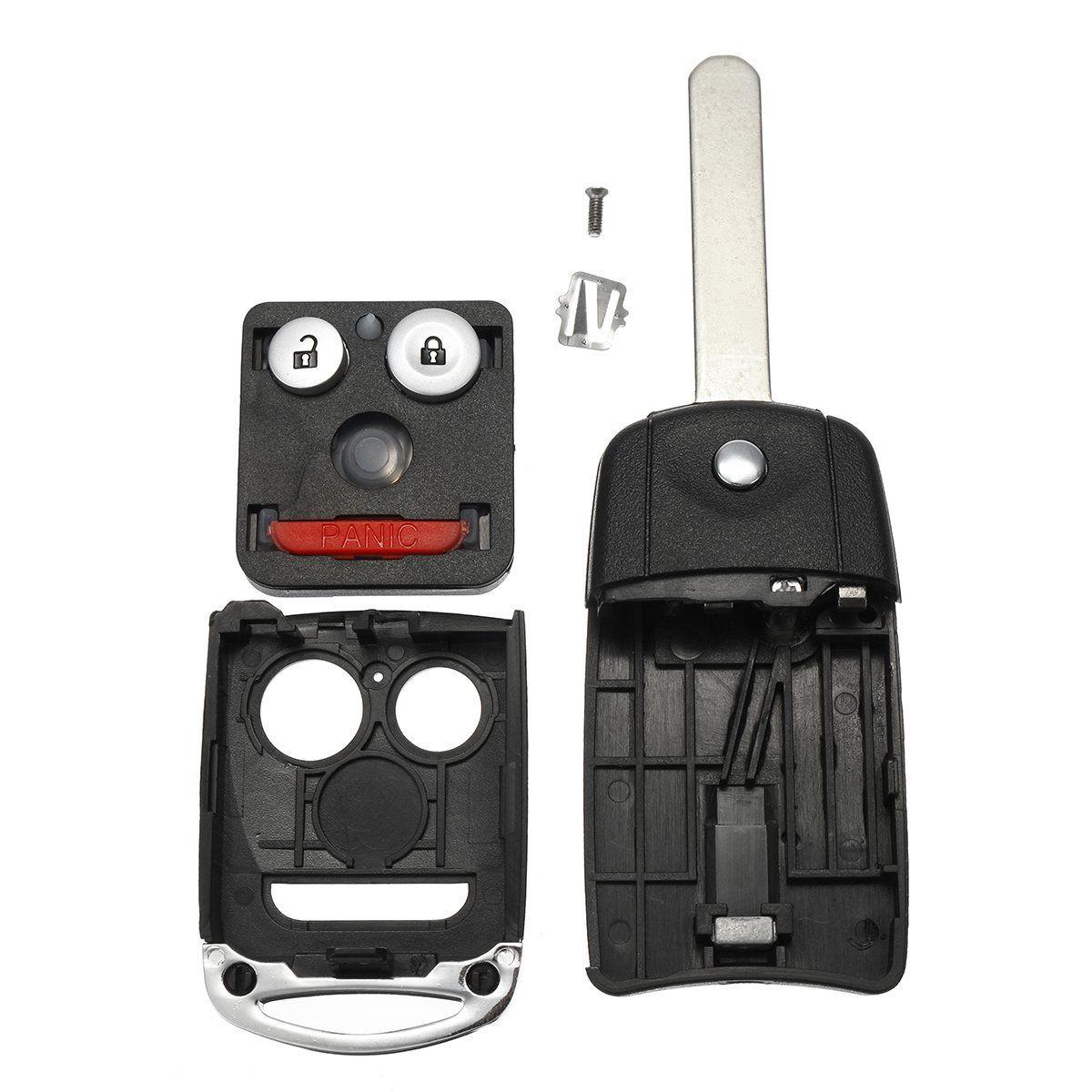 Car Remote Key Flip Fob Shell Case Keyless Entry For Acura