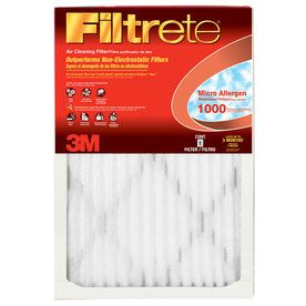 Filtrete Common 10 In X 29 5 In X 1 In Actual 10 In X 29 5 In X 8 Filters Electrostatic Air Filter Air Purifier