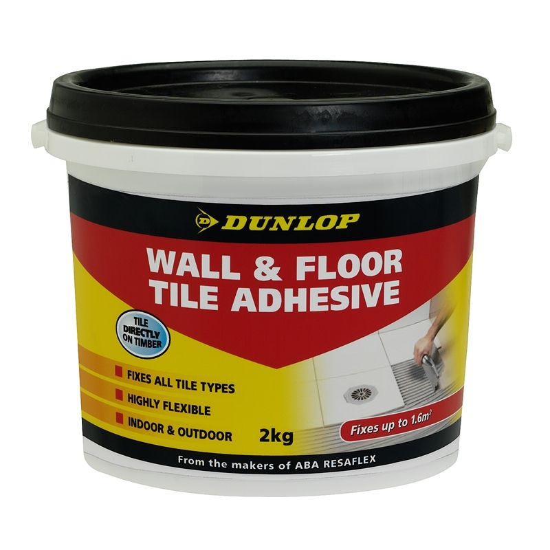 Dunlop 2kg Wall And Floor Tile Adhesive Wall and floor