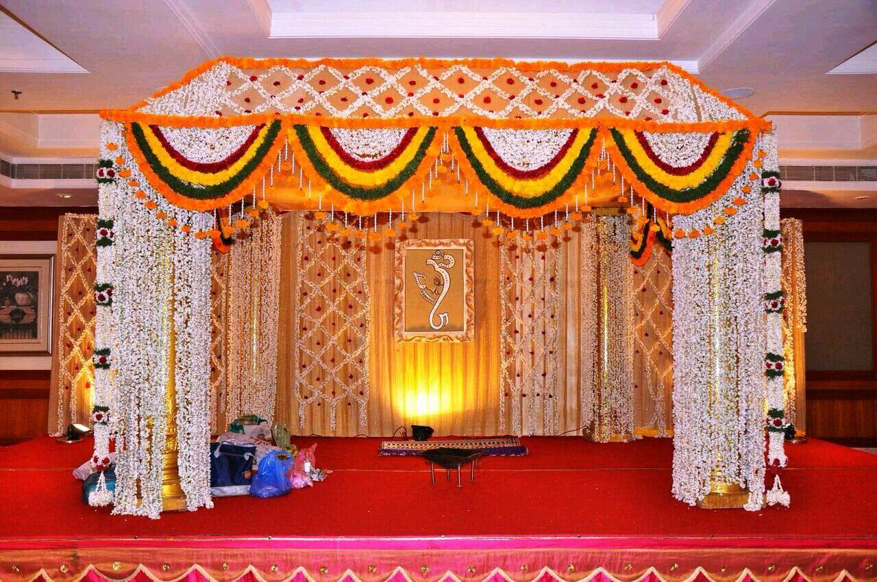 Wedding stage decoration design  Pin by Pawan Vispute on pawan in   Pinterest  Wedding