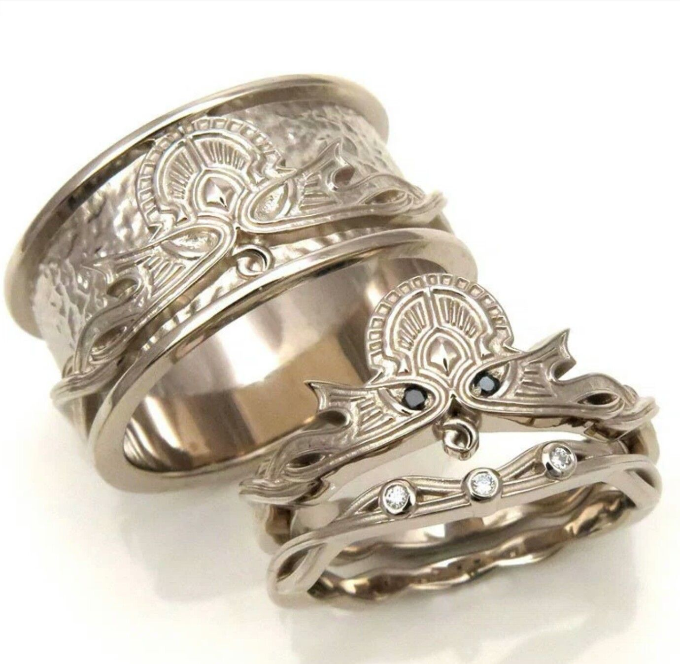 Pin by Myer Brown on wedding bands Viking wedding ring