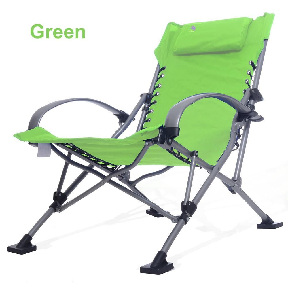 Long Outdoor Picnic Camping Sunbath Beach Chair Zero Gravity Patio Lounge  Chair Folding Foldable Recliner Chair