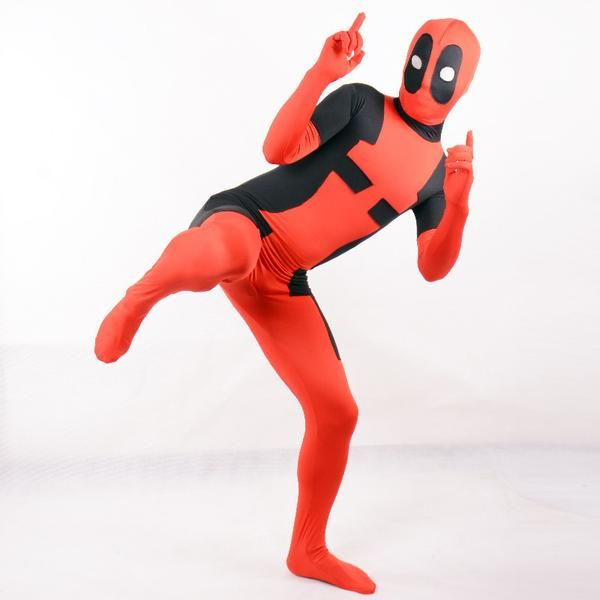 Deadpool Costume Superhero Cosplay BodySuit