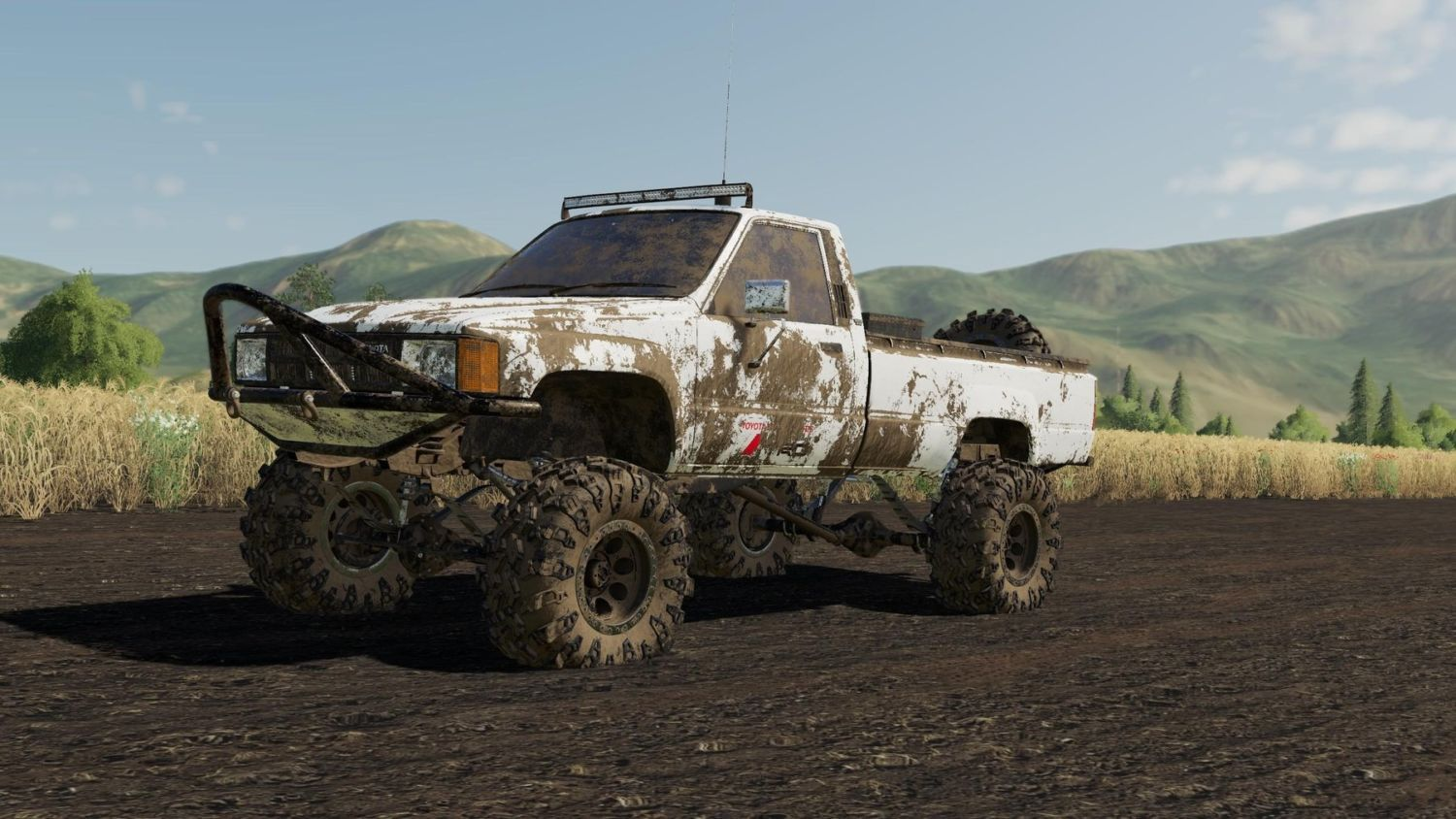 Download Exp19 84 Toyota Hilux Mod For Farming Simulator 2019 At