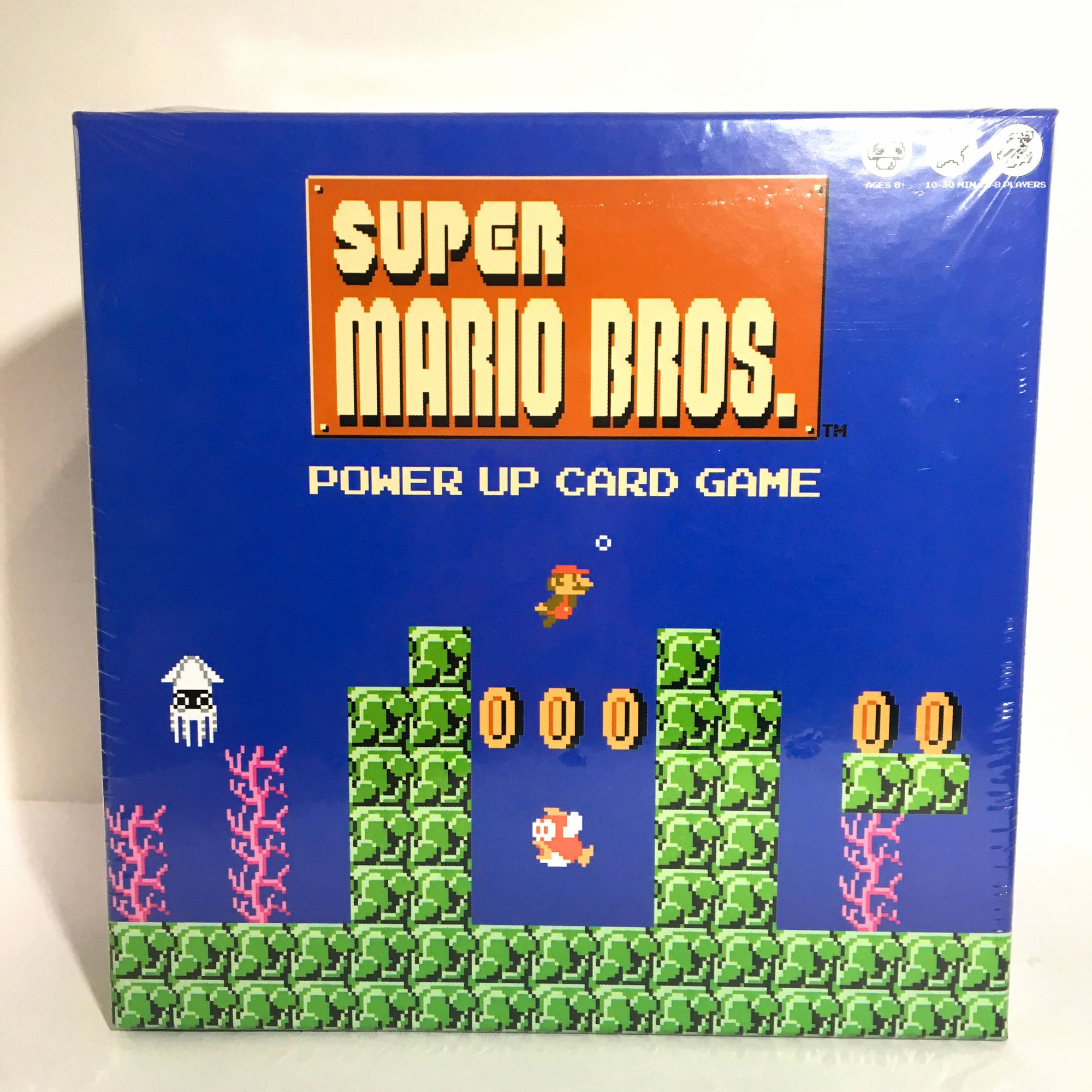 New Super Mario Bros Power Up Card Game Nintendo Fast Shipping Mario Bros Super Mario Bros Card Games