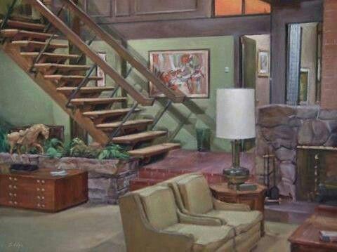 Living Room Sets With Tv popular tv show's living room set. | famous tv houses | pinterest