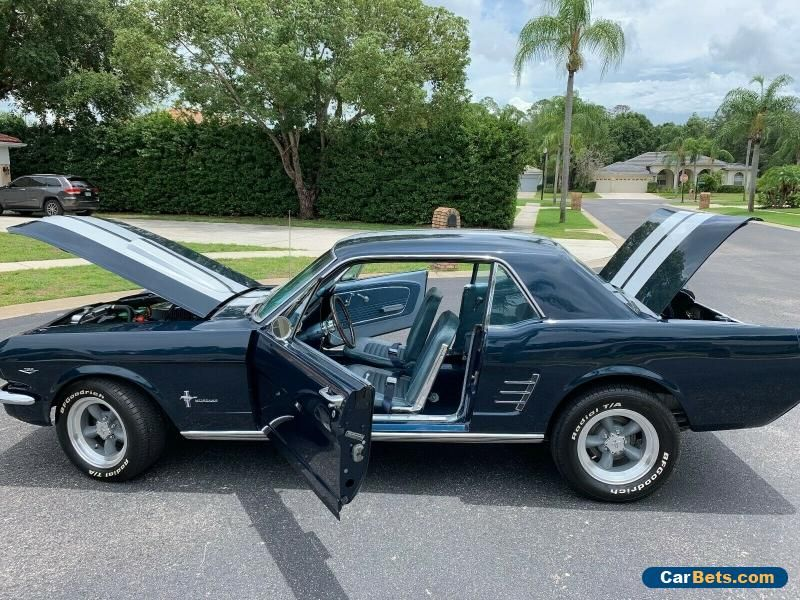 Car For Sale 1966 Ford Mustang 1966 Ford Mustang Ford Mustang Coupe Ford Mustang