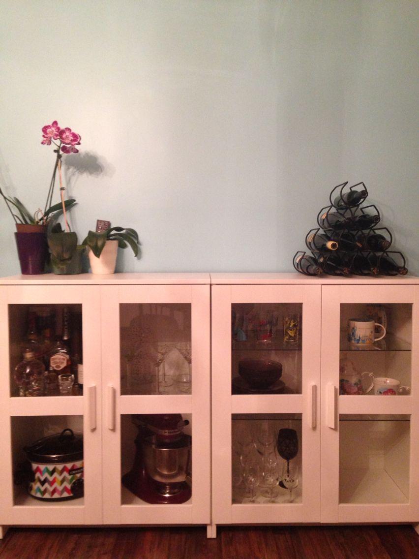 IKEA Brimnes cabinets making our kitchen complete finally ingresso Pinterest Decoración