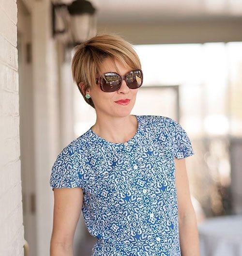New Short Haircuts for Older Women with Fine Hair