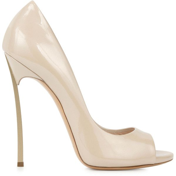 Casadei Blade Patent Leather Pumps        N