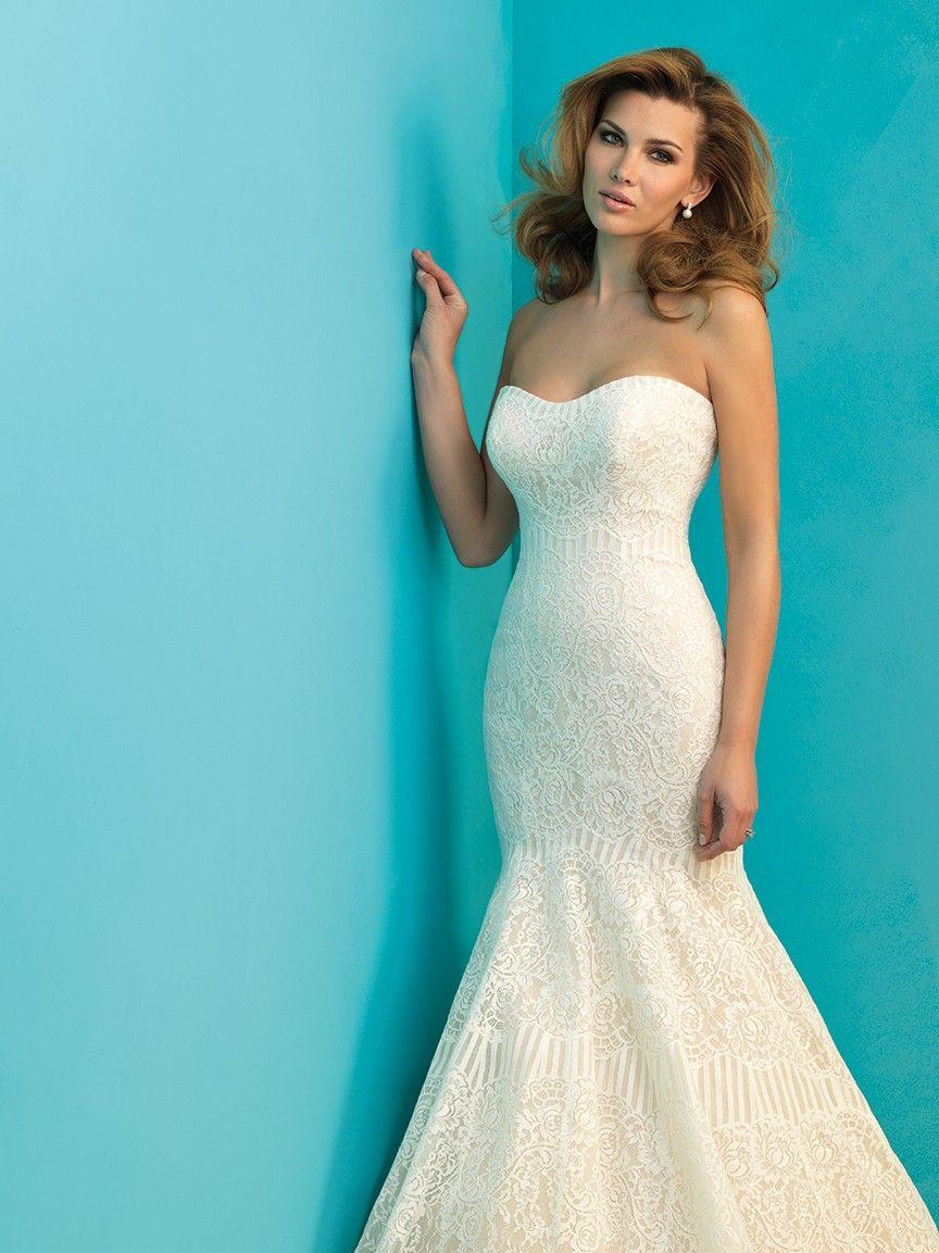 Allure 9259 | Gowns | Pinterest | Birmingham alabama, Wedding dress ...