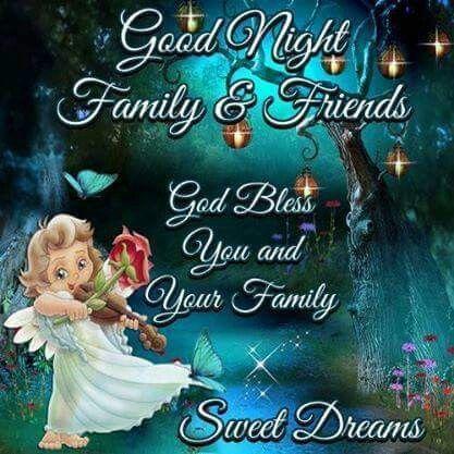 Good night, God bless! | Go Nat