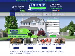 Hvac Website Design With Images Portfolio Website Design Design Building Hvac