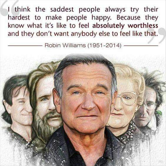 People Should Ve Given Him More Happiness Robin Williams Quotes Robin Williams Robin