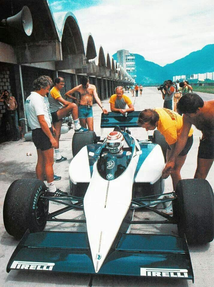 Rio 1985 Brabham BT51 BMW turbo
