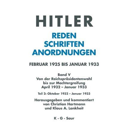 Oktober 1932 - Januar 1933