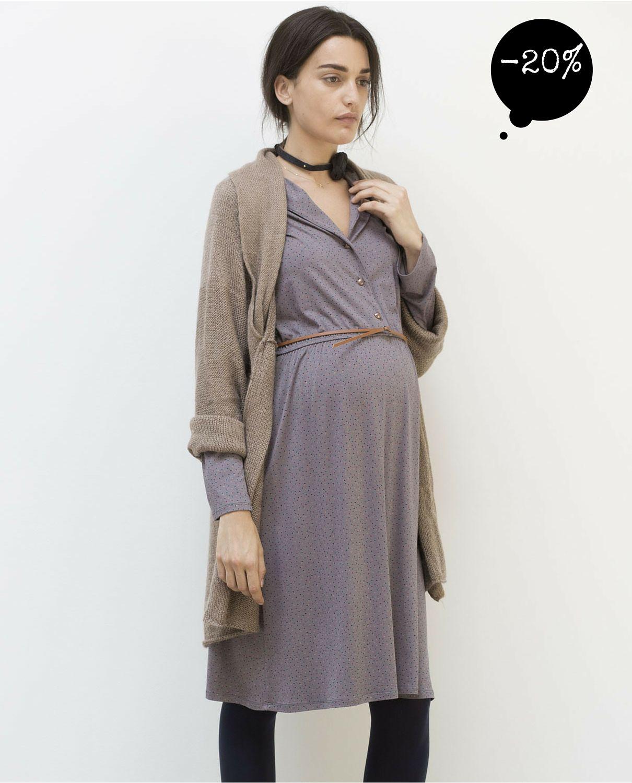 ce38a67e9 Chaqueta jersey de corte ancho para  embarazadas  premama  embarazo  moda   pregnancy