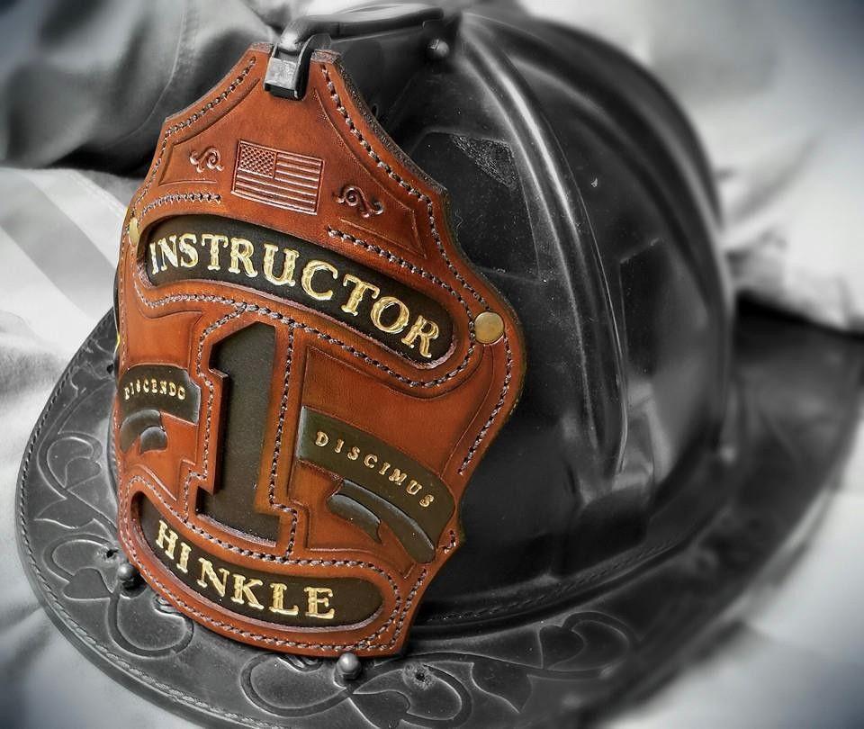 Black smoke shields leather fire helmet front shields