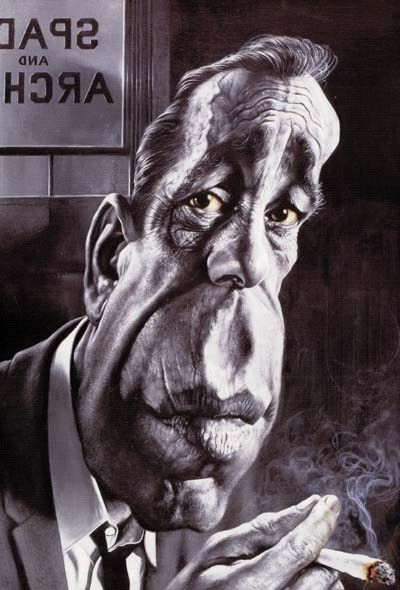 Humphrey Bogart Caricature Words cannot describe how talented Sebastian Kruger is at drawing caricatures