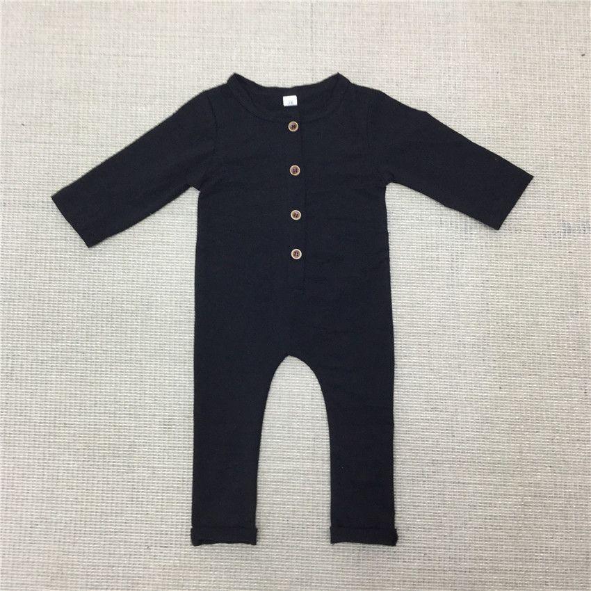 f402b5fcbf87 2017 Nuevos Bebés de los Mamelucos Recién Nacido de Algodón De Manga ...