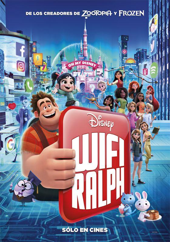 Ralph El Demoledor 2 Wifi Ralph Pelicula Online Ver Gratis Internet Movies Wreck It Ralph Disney Posters