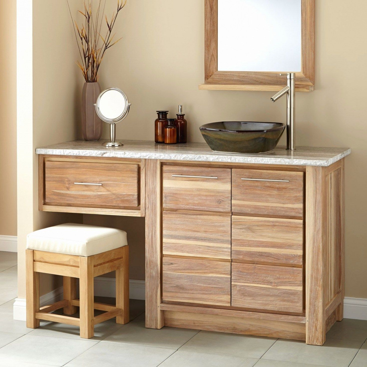 Bathroom Vanities With Sitting Area More Click Bathroom Vanities With Sitting Area Log Homes