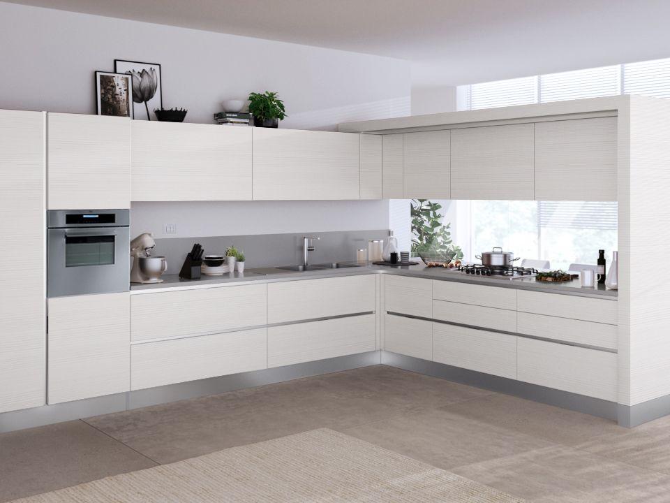 liberamente scavolini bianca - Cerca con Google kitchens - Cocinas Integrales Blancas